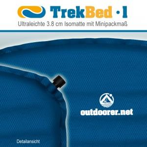 Trek Bed 1d 300x300 Trek Bed 1   Isomatte aufblasbar