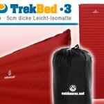Trek Bed III - die bequeme, leichte Isomatte
