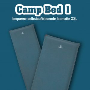 Camp Bed 1, dicke Campingmatte