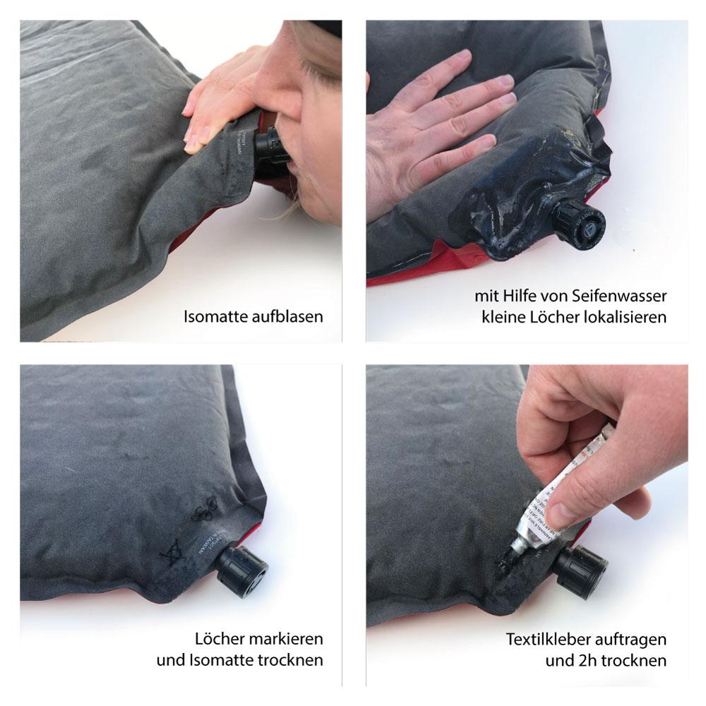 Isomatte reparieren Anleitung